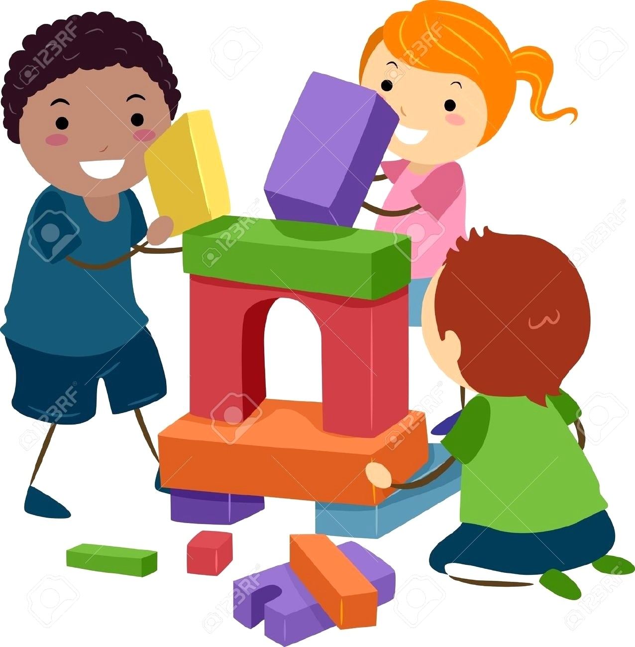 Kids playing with toys clipart 4 » Clipart Station.