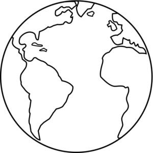 Globe black and white world globe black and white clipart 4.