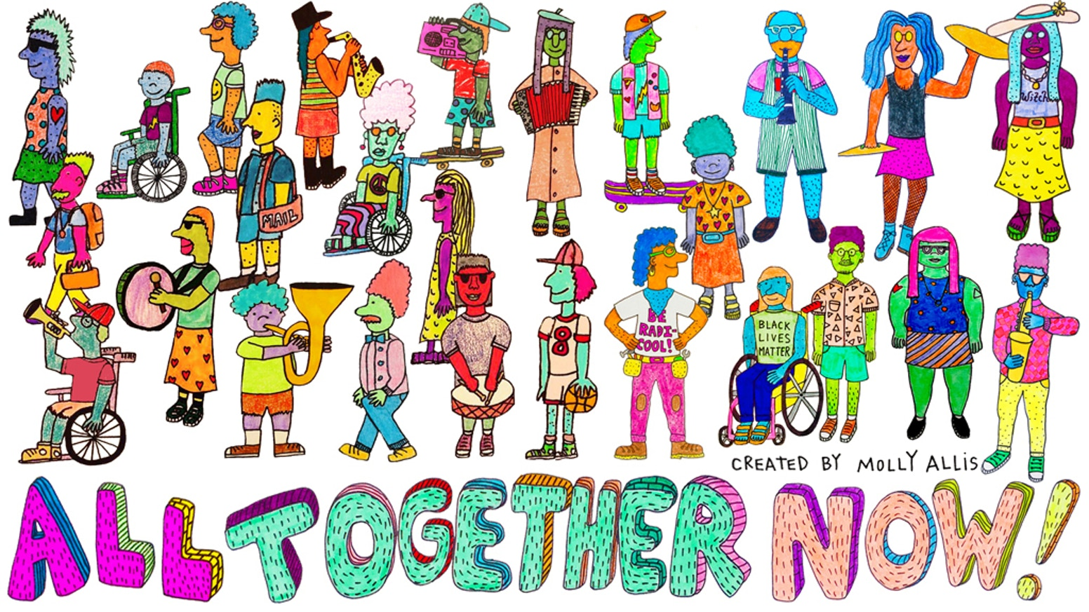 All Together Now! by Molly Allis — Kickstarter.