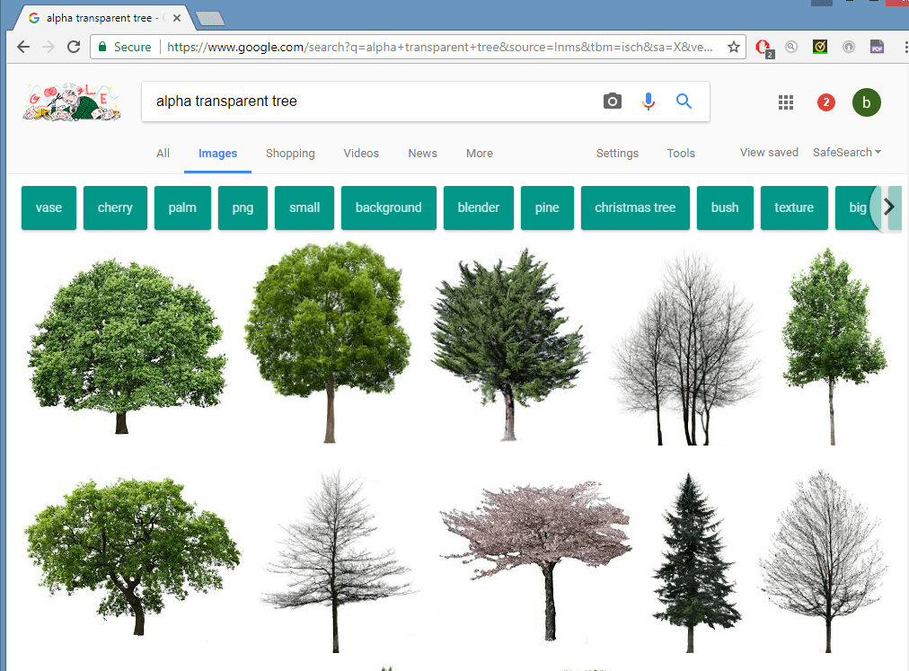 PNG Trees: Part 2.
