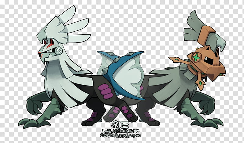 Silvally and Type: Null [Free PSDs] transparent background.