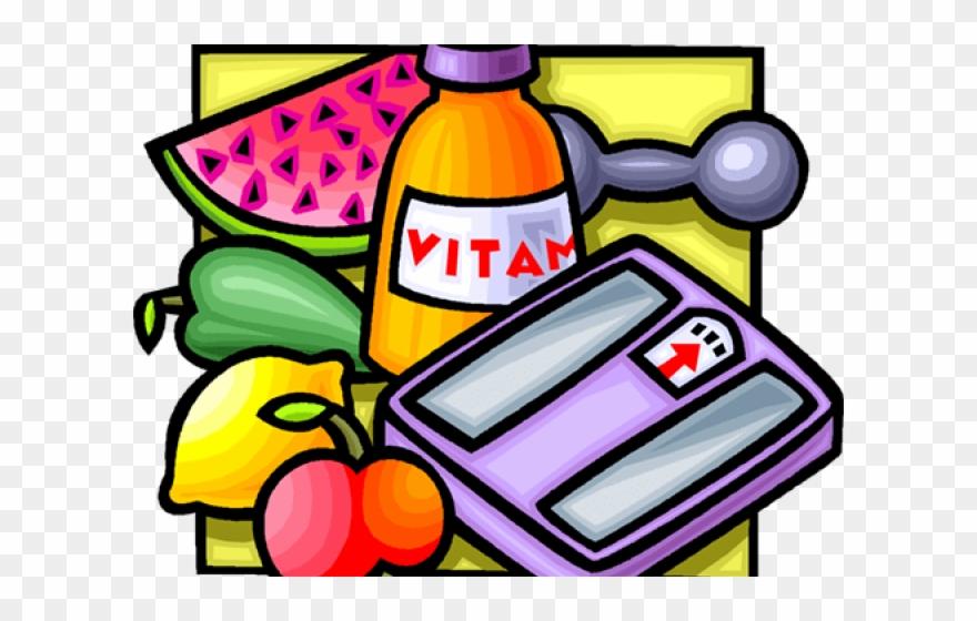 Healthy Food Clipart Vitamin Food.