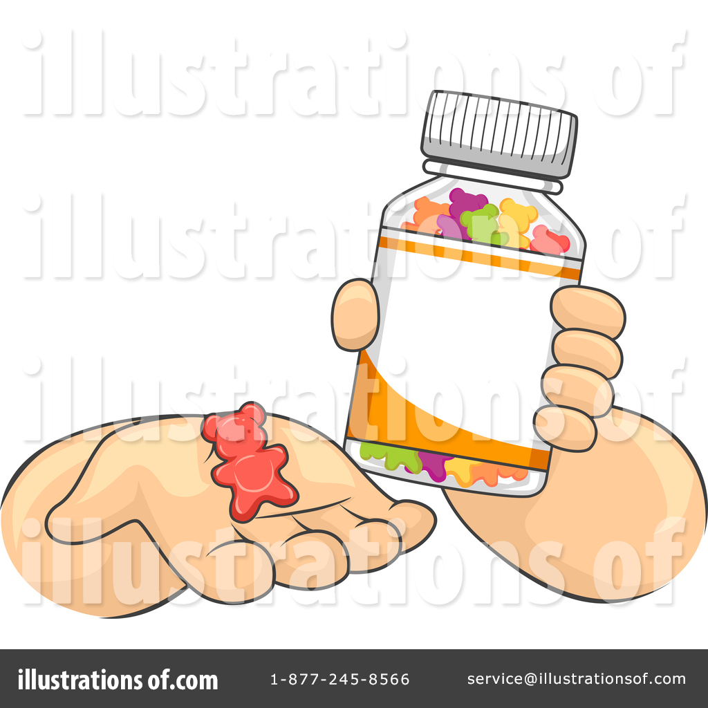 Vitamins Clipart #1467220.