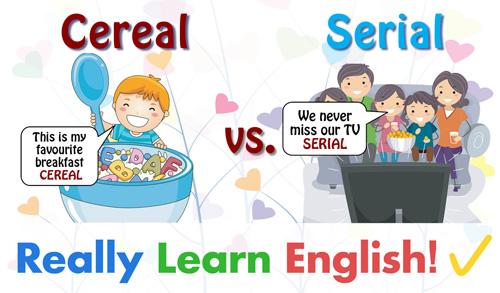 Cereal vs. Serial.