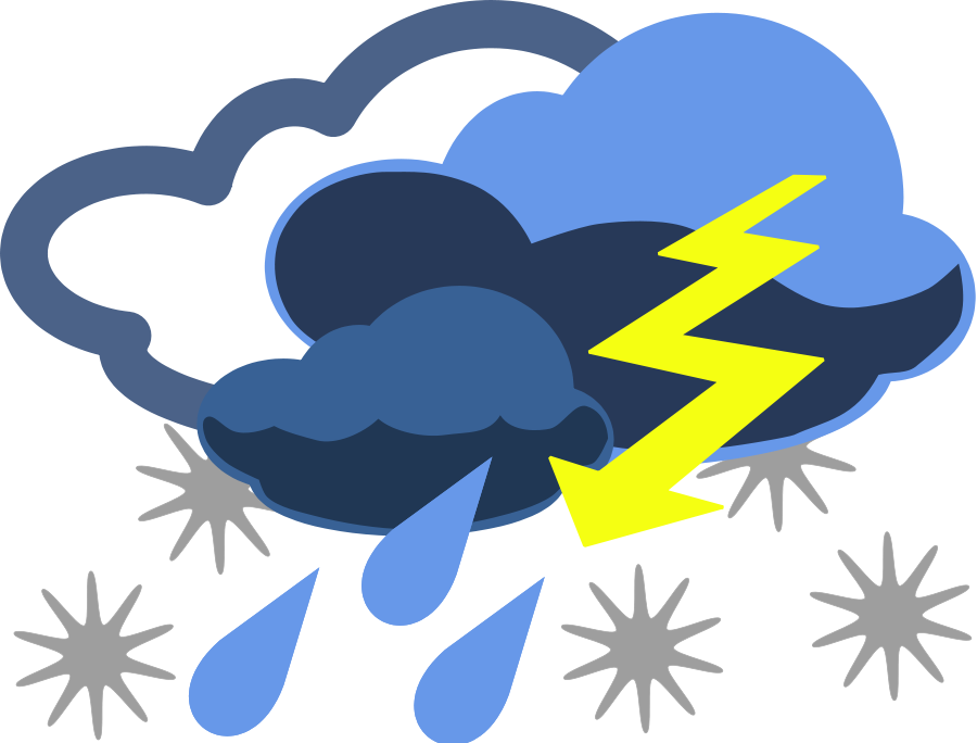 7939 Weather free clipart.