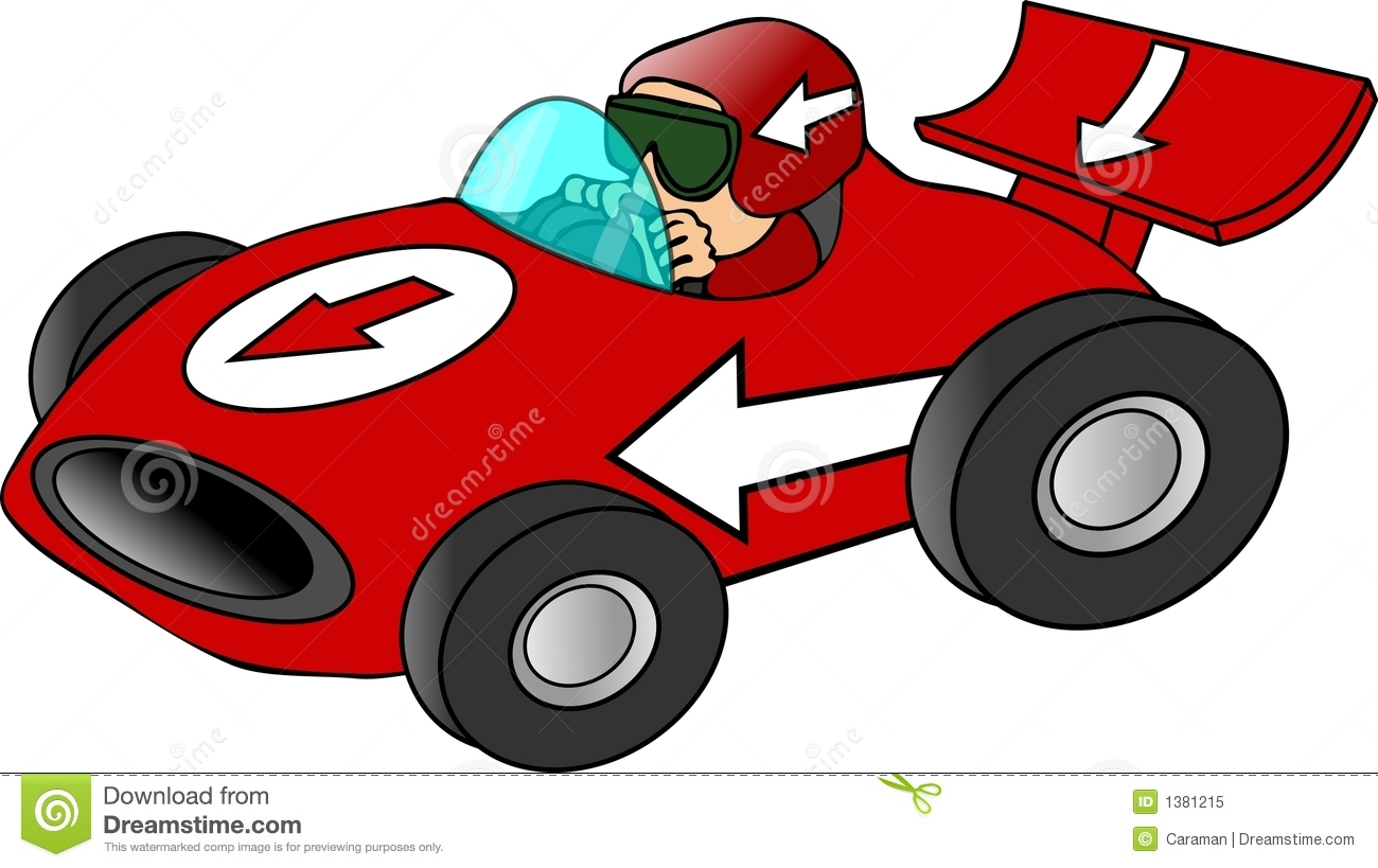 Clipart Of Race Cars.