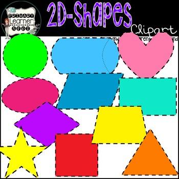 2D dimensional Shapes.