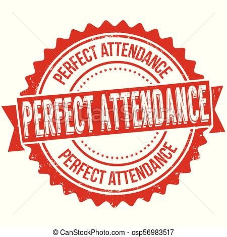 Perfect attendance clipart 4 » Clipart Station.