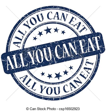 All You Can Eat Clipart.