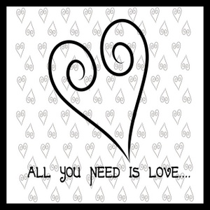 All you need is love heart clipart.