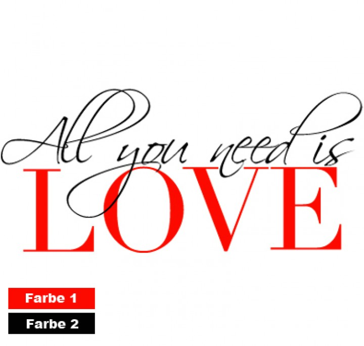 All You Need Is Love Clip Art.