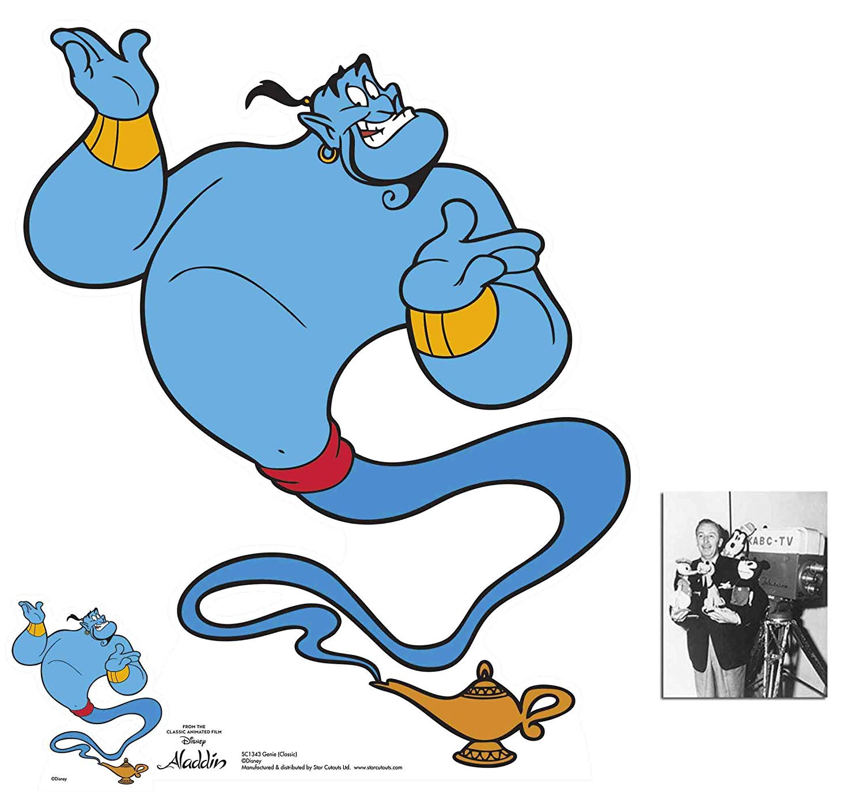 Amazon.com: Genie from Aladdin Classic Official Disney.