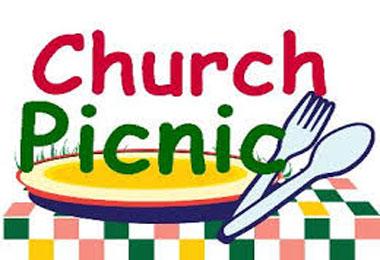 Church Picnic Banner.
