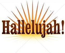 Alleluia clipart Transparent pictures on F.