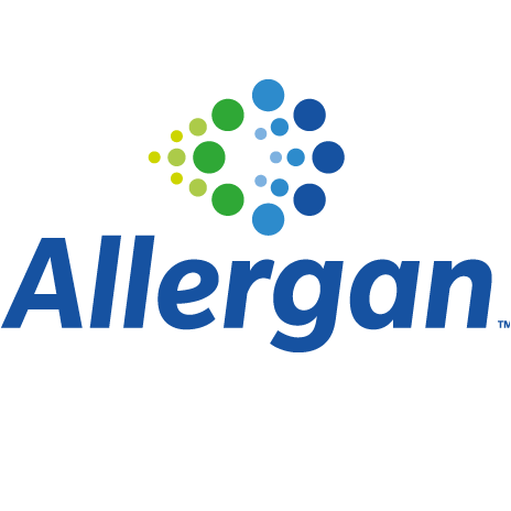 allergan logo.