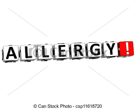 Allergy Clipart.