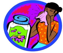 Allergy Medicine Clip Art.