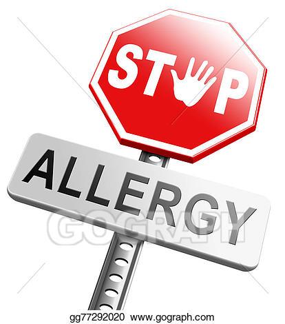 Allergy Alert Clipart.