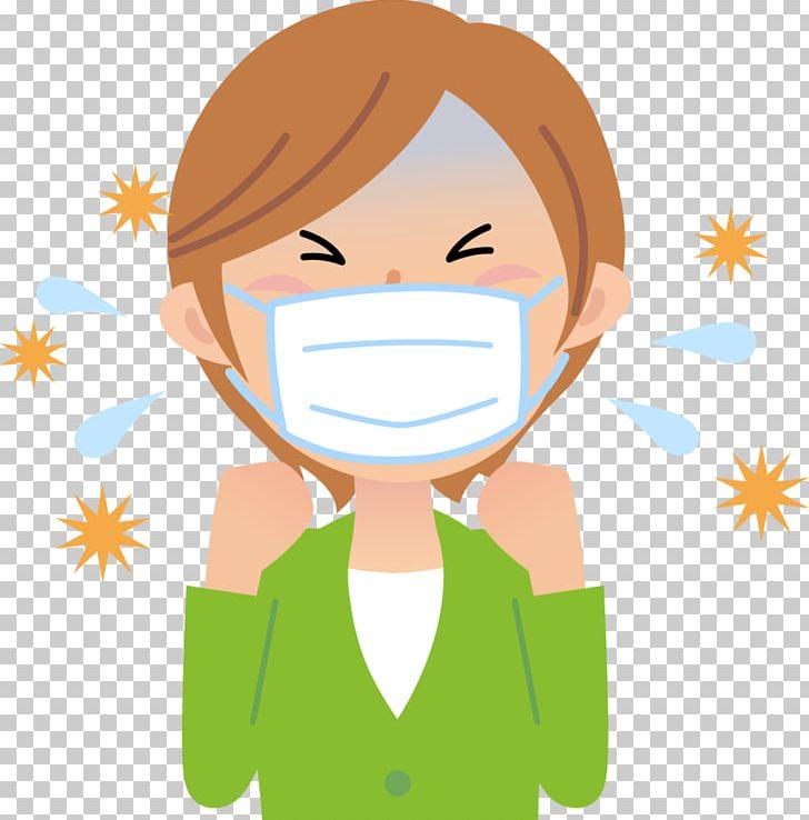 Symptom Common Cold 土師療術院 Allergic Rhinitis Due To Pollen.