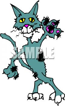 Alley cat clipart 1 » Clipart Station.