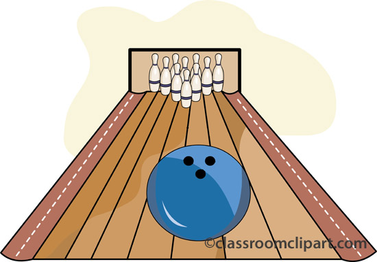 Clipart bowling alley.