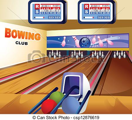 Bowling alley Illustrations and Clipart. 1,299 Bowling alley.
