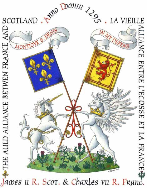 Coat of Arms of great names of History.