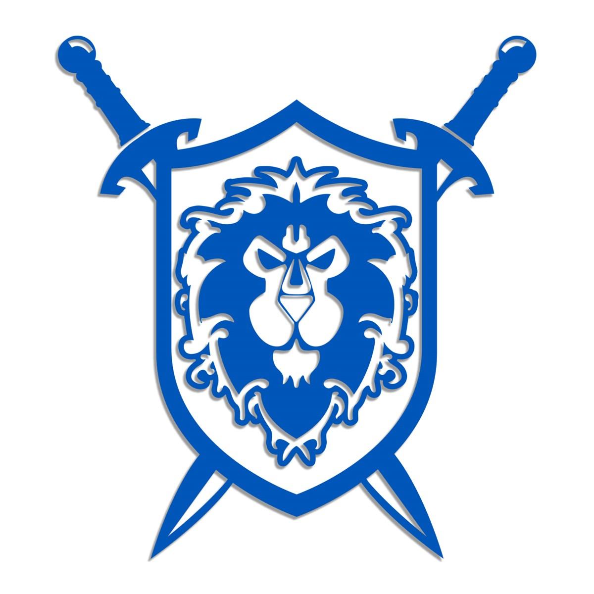 JINX : World of Warcraft Alliance Coat of Arms Vinyl Sticker.