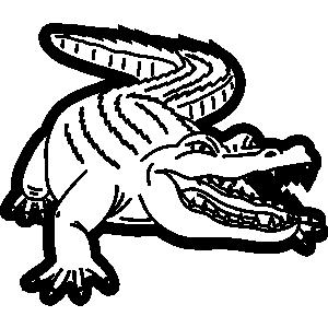 Alligator Clipart Allie.