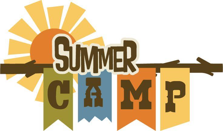 Clip art summer camp.