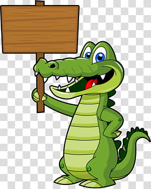 Alligators Cartoon , Alligator cartoon transparent.