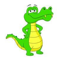 Free Alligator Clipart.