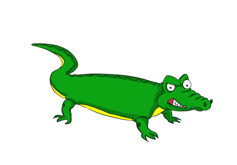 Alligator clipart simple, Alligator simple Transparent FREE.