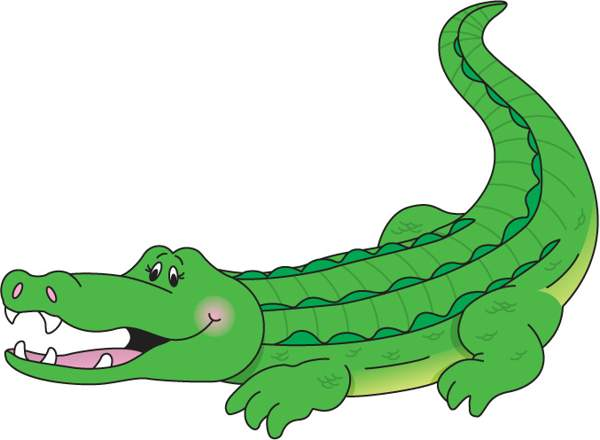 Collection of Alligators clipart.