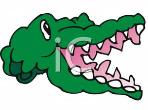 Alligator Mouth Clipart.