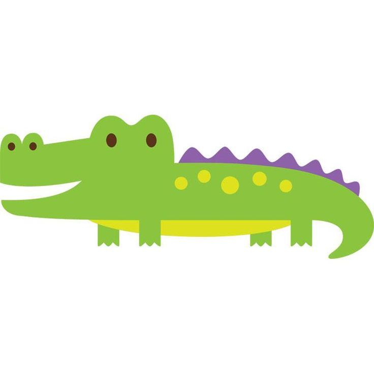 Cute alligator clipart 2 » Clipart Station.