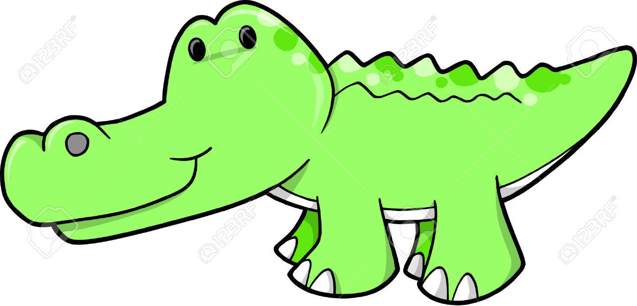 Alligator clipart adorable, Picture #40536 alligator clipart.