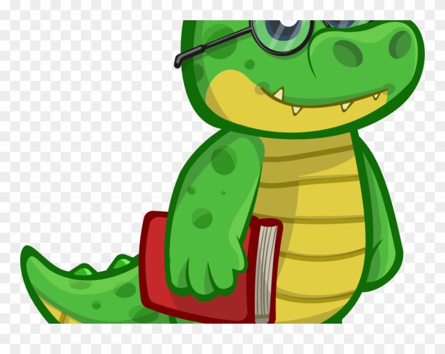 Alligator Clipart Cute Baby Snake.