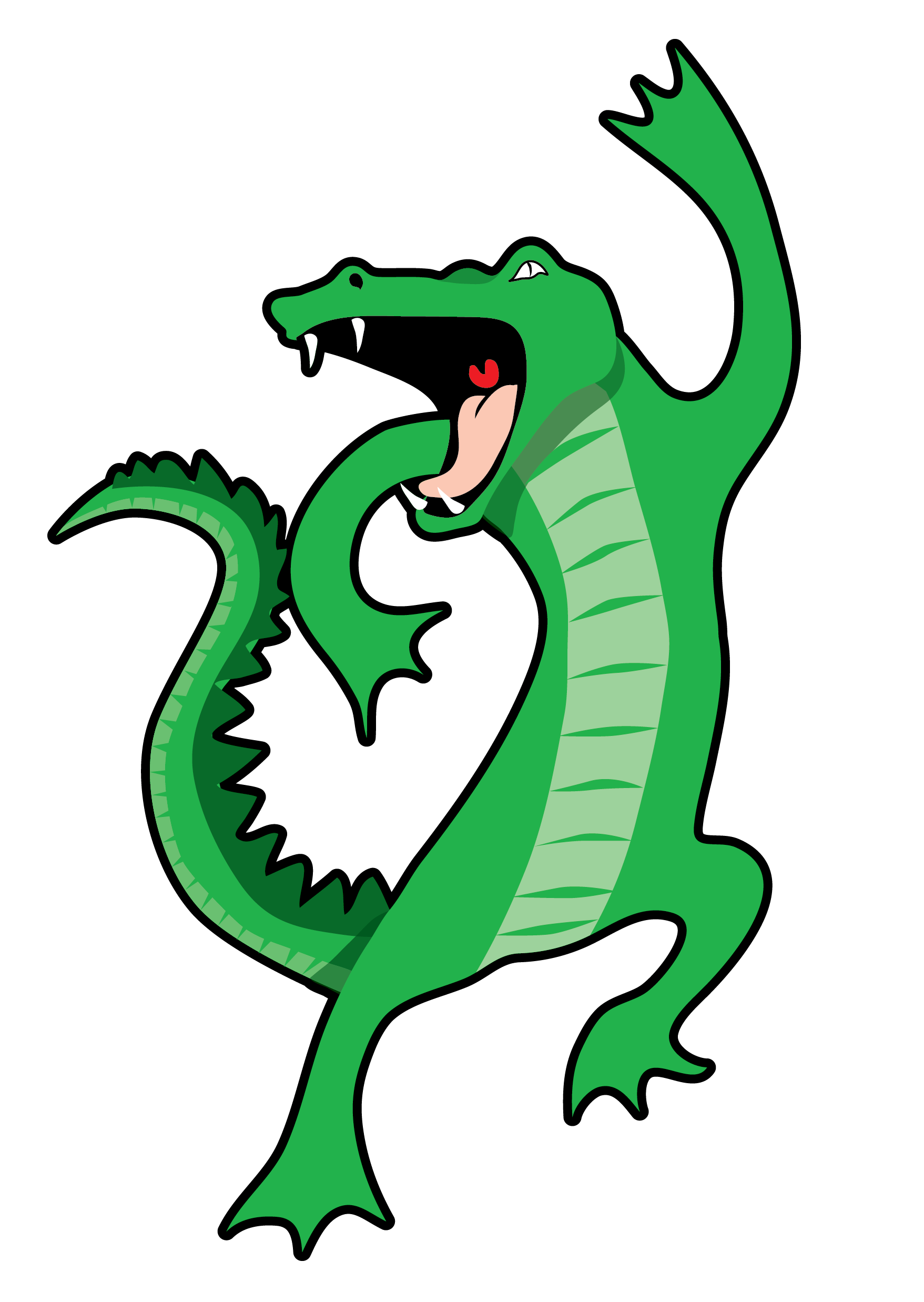 Gator clipart dancing, Gator dancing Transparent FREE for.