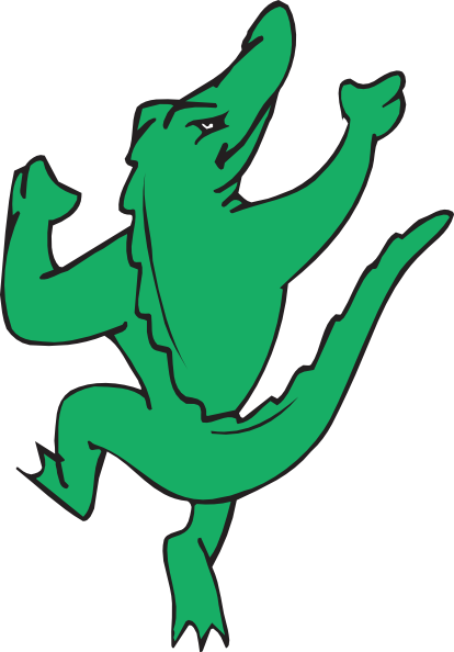 Dancing Alligator Clip Art at Clker.com.
