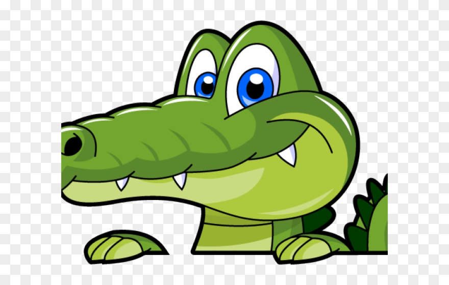 Alligator Clipart Bite Cartoon.