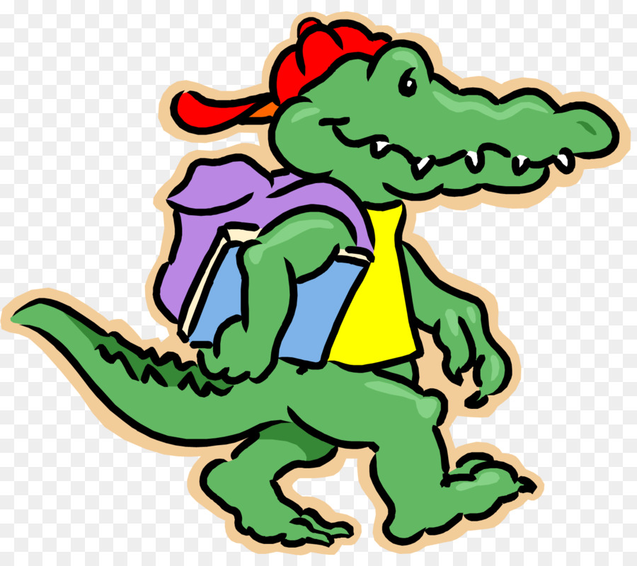 Alligator clipart school, Alligator school Transparent FREE.