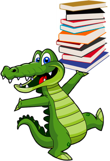 Gator clipart school, Gator school Transparent FREE for.