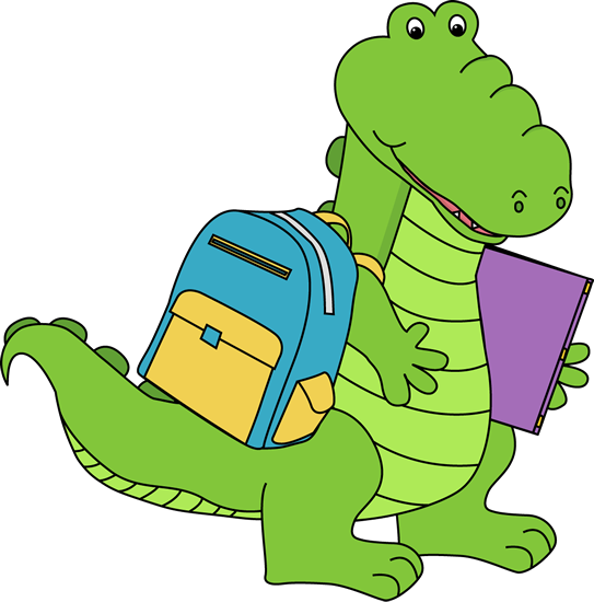 Alligator Going to School.