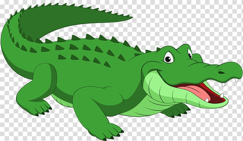 Green crocodile illustration, Crocodile Alligator Reptile.