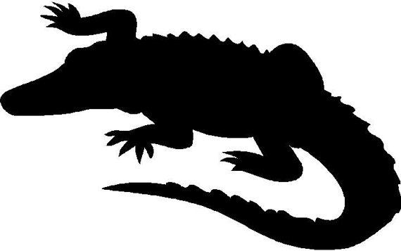 Alligator Silhouette Clip Art at GetDrawings.com.