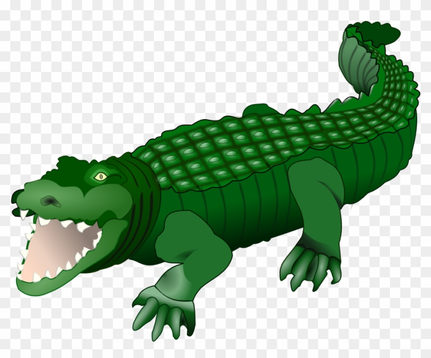 Alligator clipart caiman, Alligator caiman Transparent FREE.