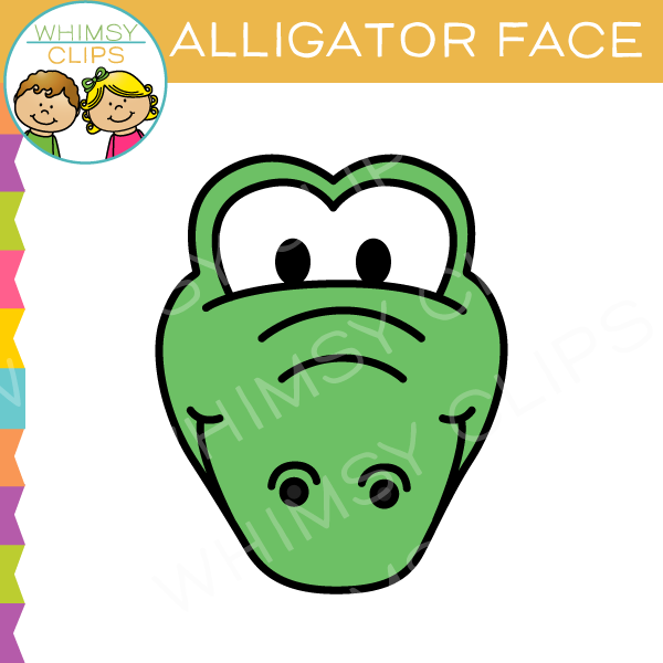 Alligator Clips Clipart.