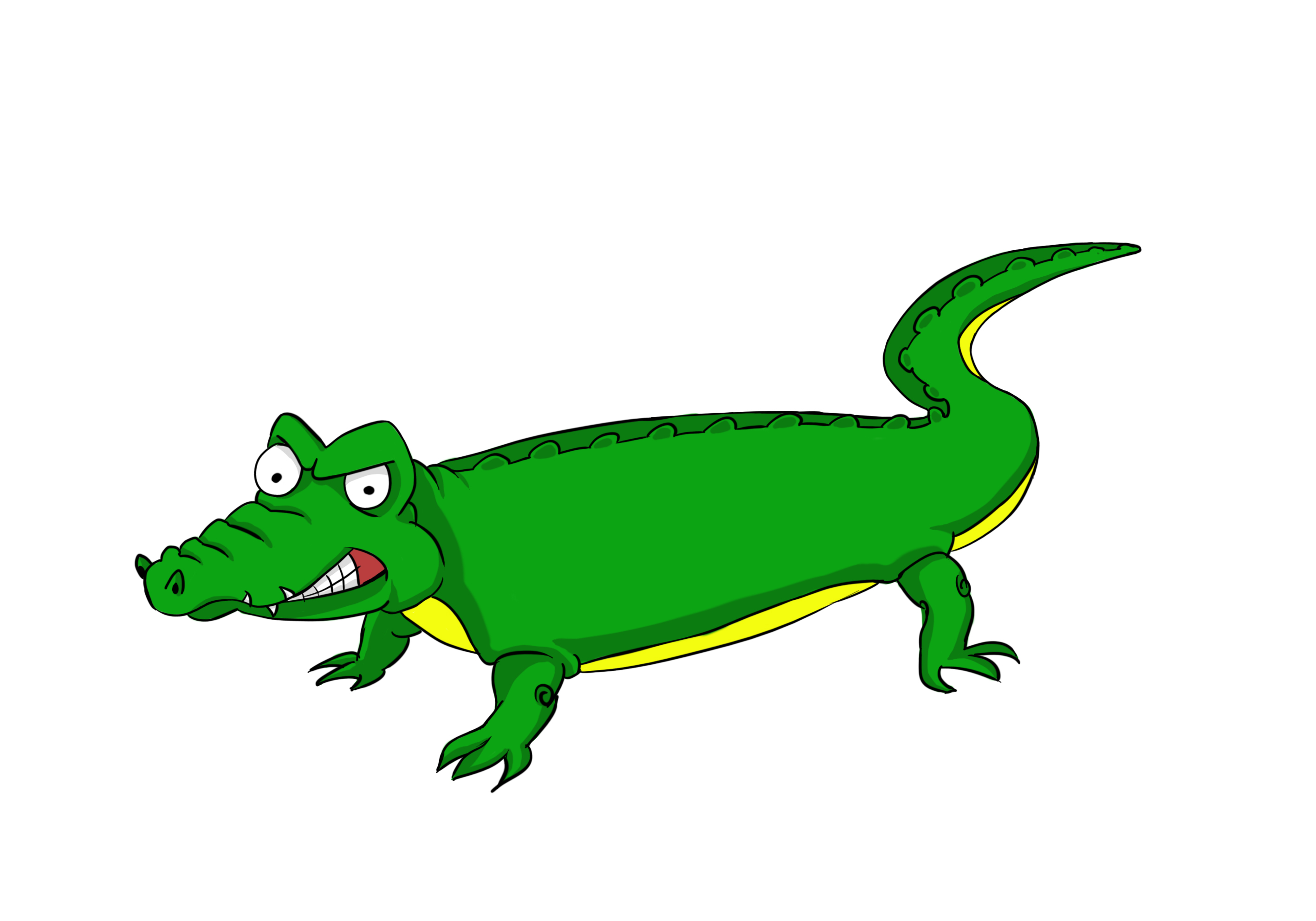 Alligator clip art free clipart cliparts for you.