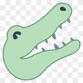 Alligator Face Clipart.